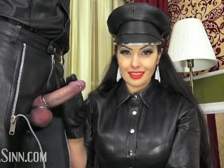 Cuckold for leather couple (Preview)