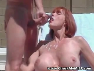Highly big-titted mommy I´d like to penetrate deepthroat fellowmeat and cascading fellow milk